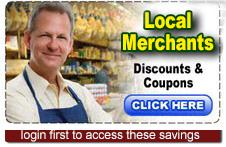Local Merchants Discounts & Coupons
